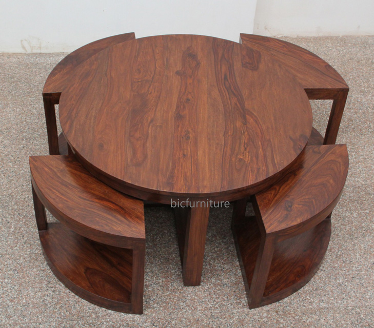 Dining Table Round Space Saving Dining Table