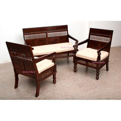Traditional sofa set india Sofa set india
