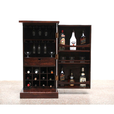 Compact Yet Spacious Bar Cabinet | Home Bar Furniture by BIC India