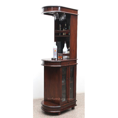 Sleek Tall Bar Cabinet For Home Indian Design Bar Furniture