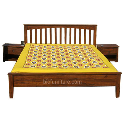 Wooden Bed (1)
