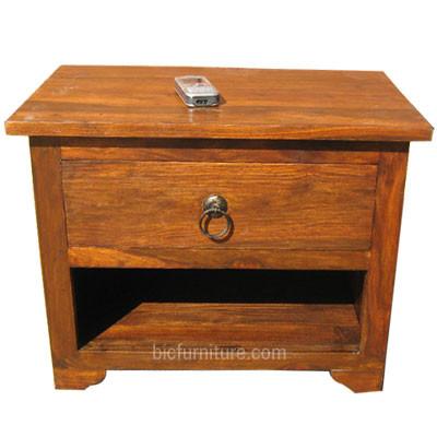 Wooden Bedside Cabinet (1)