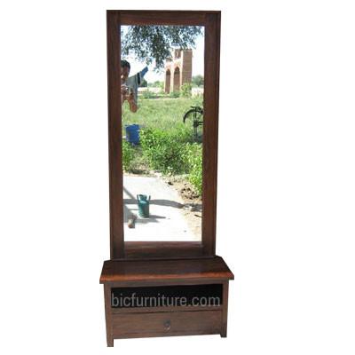 Wooden Bedside Cabinet (2)