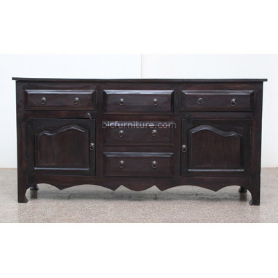 Wooden Sideboard (1)
