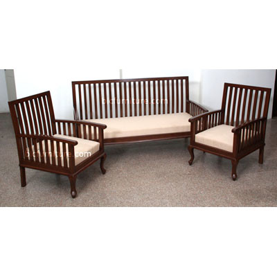 Wooden Sofa set (2)