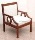 Contemporary wooden sofa set in Teakwood (2)