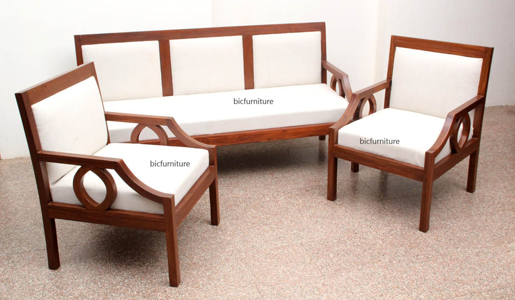 Awesome Contemporary Teak Sofa Set Tw 101 Download Free Architecture Designs Jebrpmadebymaigaardcom