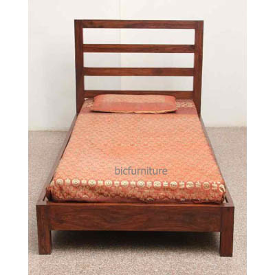 Highback wooden single bed (1)