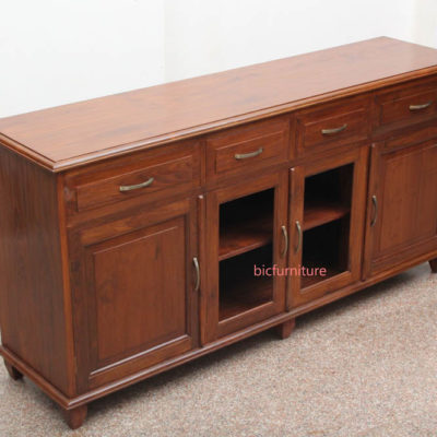 Large teakwood cabinet furniture (4)