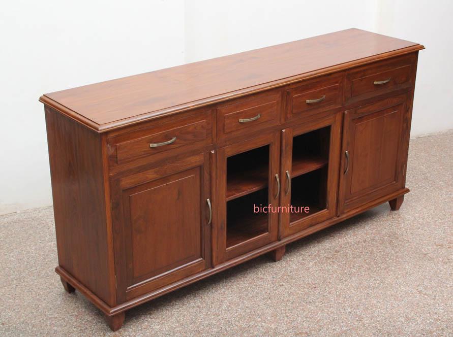 Teak Wood Cabinet Versatile Sideboards For Home Storage Solutions