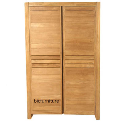 Simplistic solid teak cupboard (2)