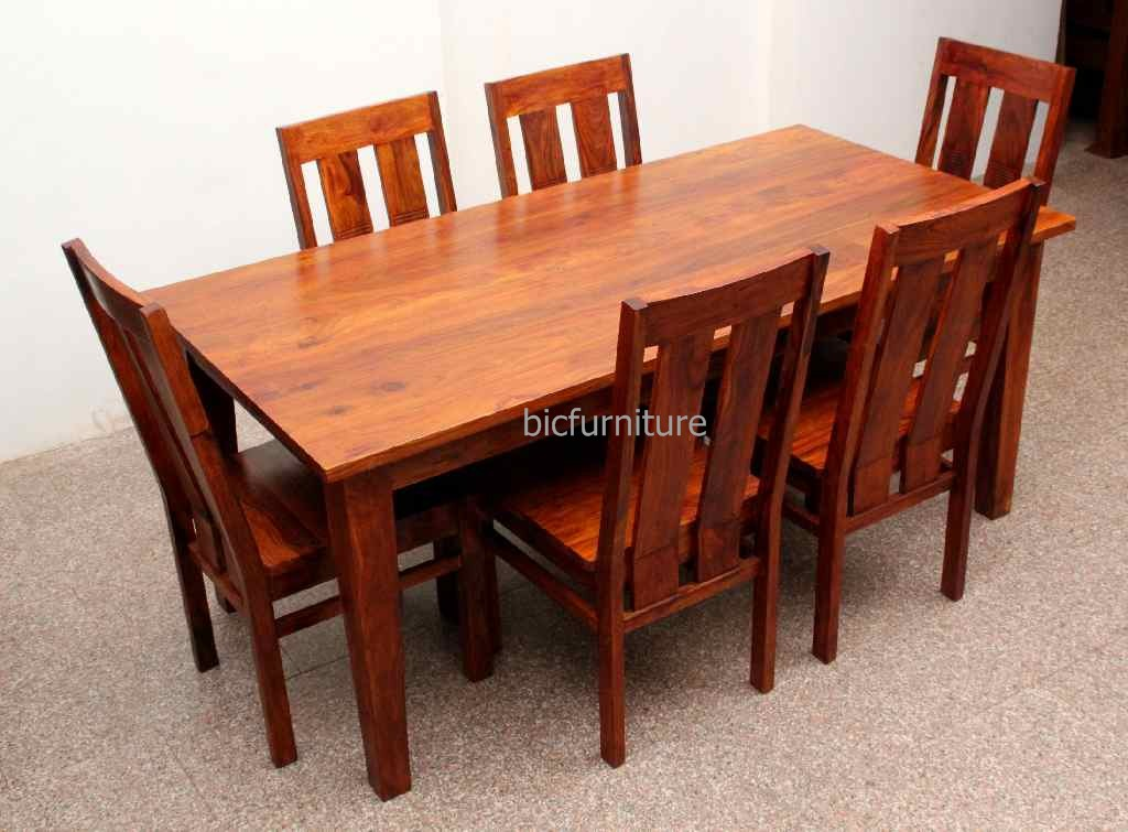 Home dining tables lucca walnut 6 seater dining table manhattan comfort 10 trimble 6 seat dining - Seater dining tables ...
