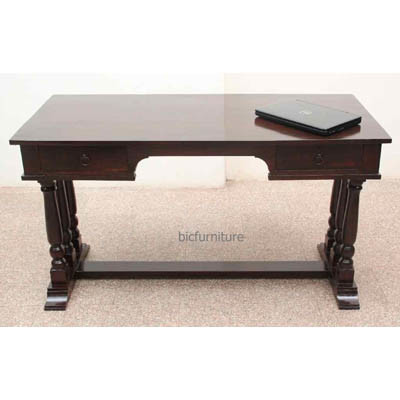 Solid wood sturdy writing table (1)