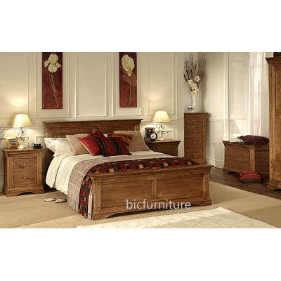 Elegant Teak Wood Bedroom Set Pure Wood Bedroom Furniture For Homes