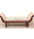 Teakwood divan sofa set (1)