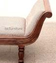 Teakwood divan sofa set (5)