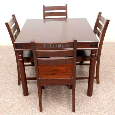 Teakwood Square Dining Table ...