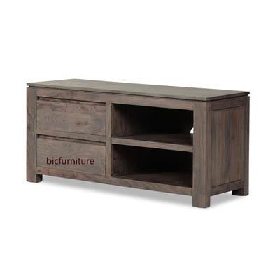 Wooden straigt line tv cabinet