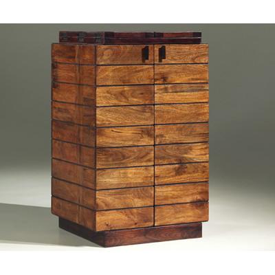 Pillar Folding Bar Cabinet (1)