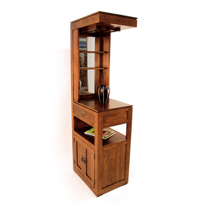 Wooden Bar cabinet Tall  (1)