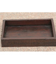 Sleeper wood serving tray  Wooden tray (1)