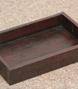 Sleeper wood serving tray  Wooden tray (3)