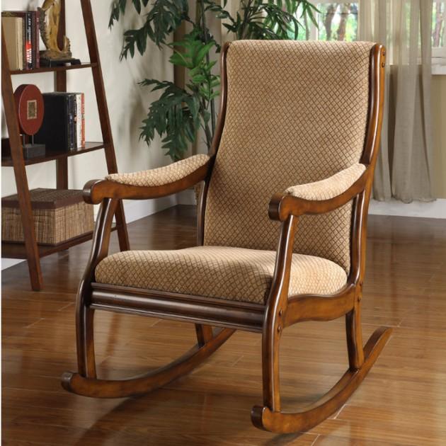 Home Living Room Furniture Teak Rocking Chairs