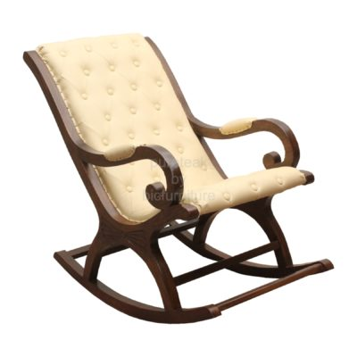 Wooden_comfortable_cushioned_rocking_chair