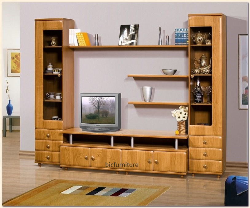 Wooden Furniture Tv Livingroom 1
