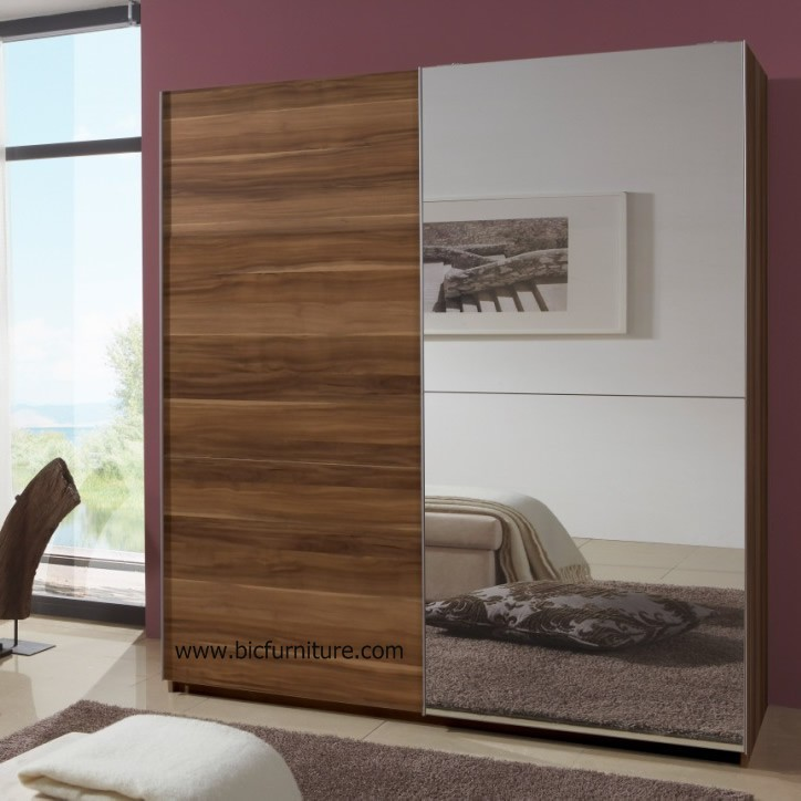 Sliding Wardrobe Mirror 2 Door