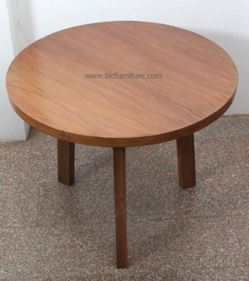 Round_small_teakwood _dining_table