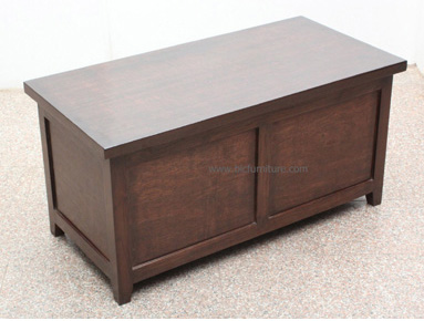 Wooden storage box teak