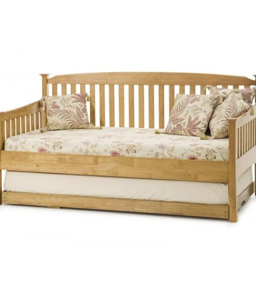 Double Teak Sofa Bed 1