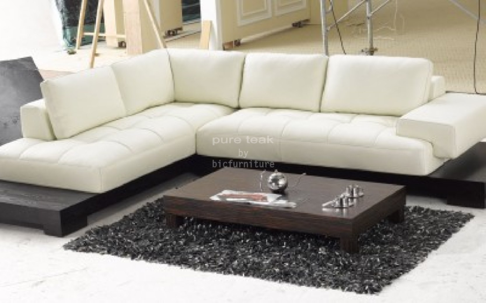 Royal L Shape Sofa Set (LS 4) · Low_stylish_L_shape_sofa