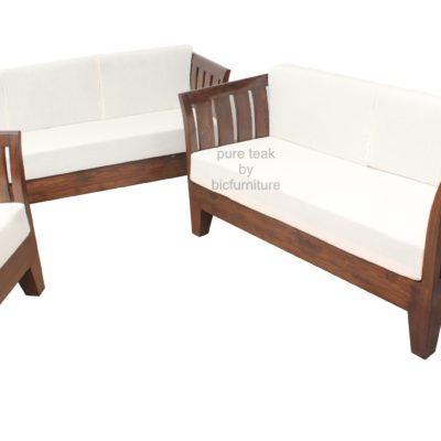 Comfortable Sofa Set In High Quality Teakwood