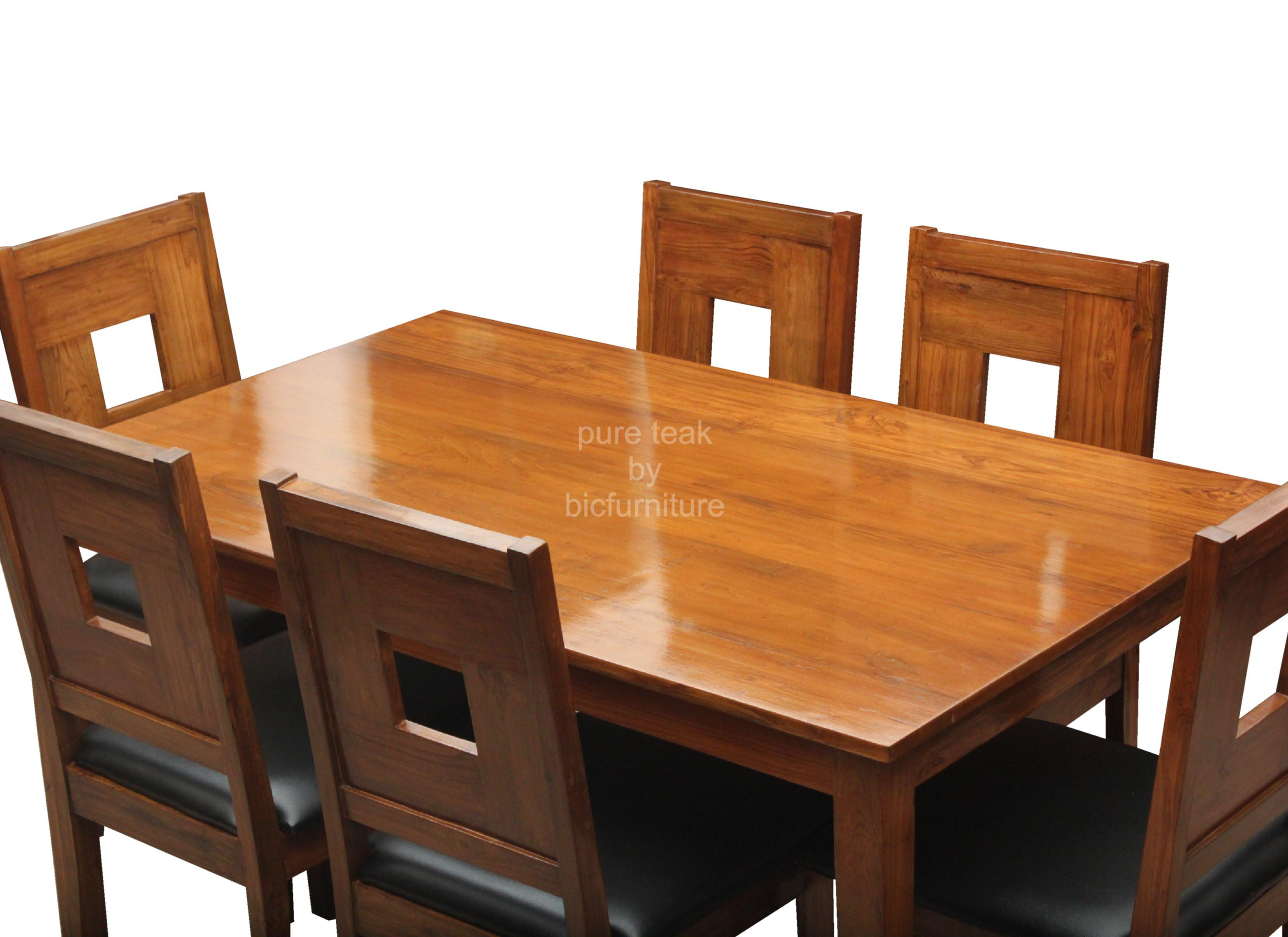 Teak Wood Dining Table With 6 Chairs Stocktonandco : 6seaterteakwooddiningtable from stocktonandco.com size 3300 x 2400 jpeg 360kB
