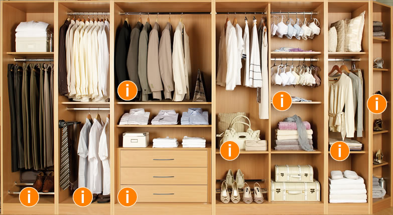 Internal Wardrobe Designs Archives Wooden Furniture In Teak Wood - Inside wardrobe designs for bedroom