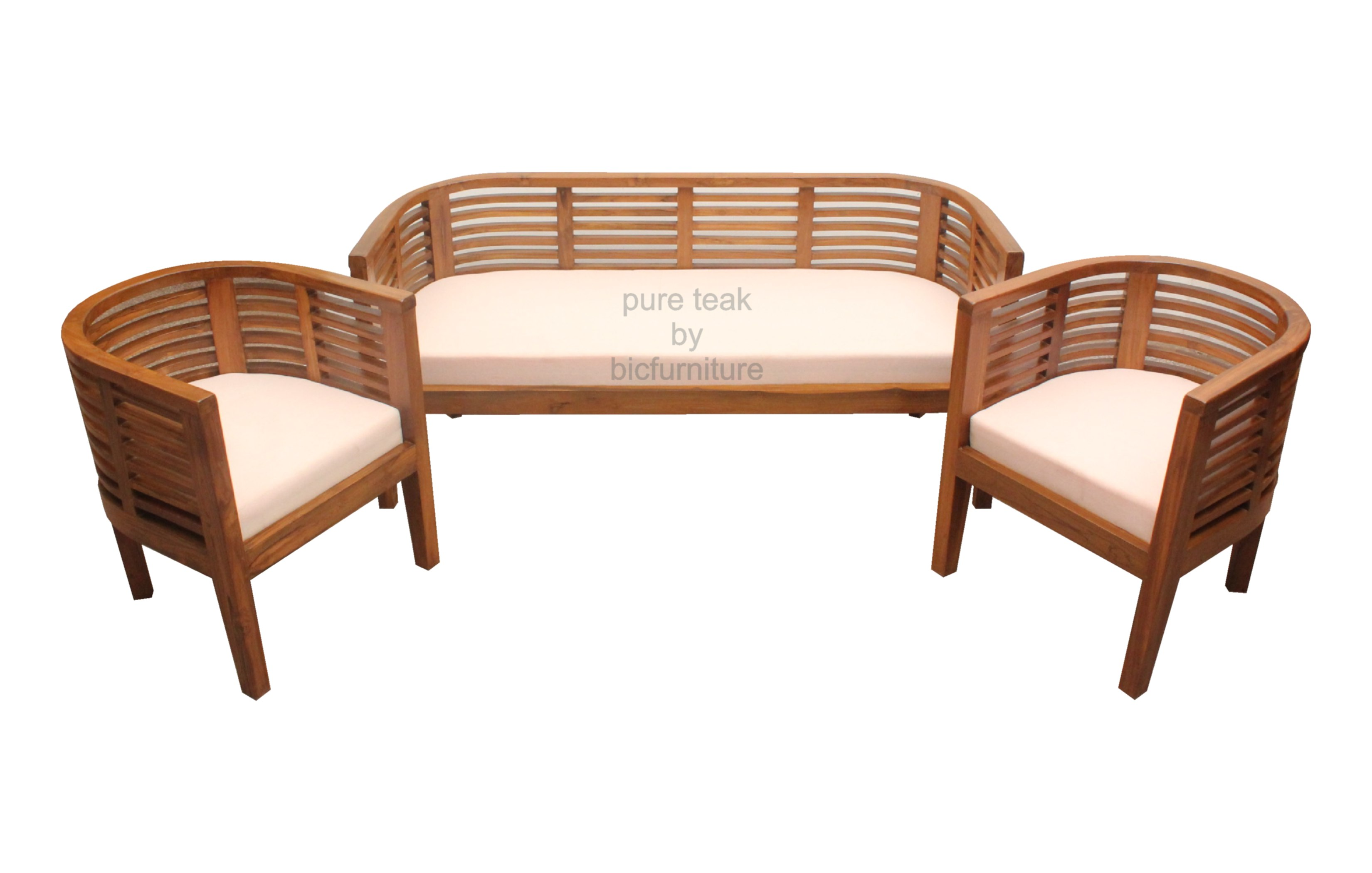 Teak wood furniture sofa set images for Wood furniture design sofa set