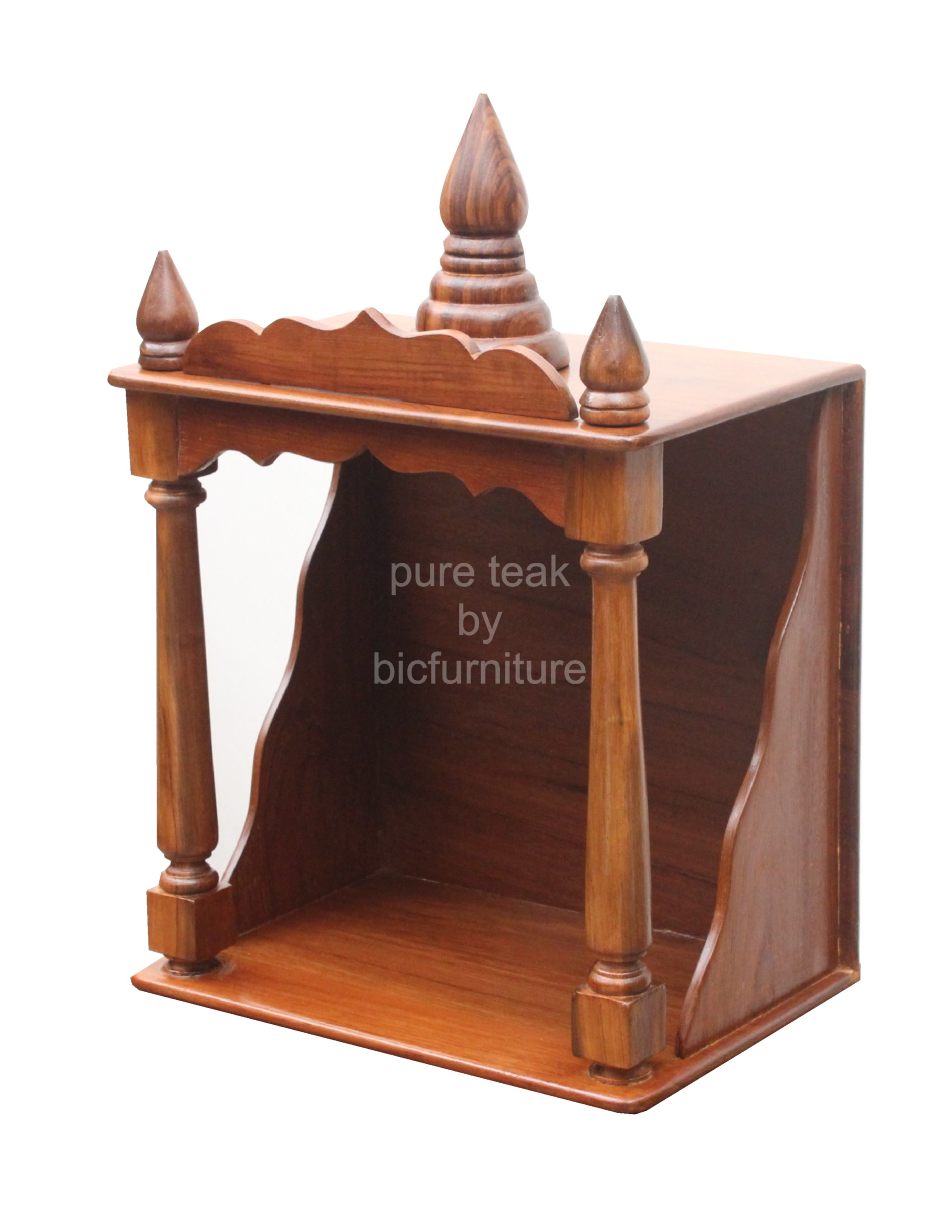Wt 1 Wooden Home Temple Details Bic Furniture India