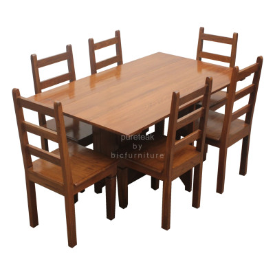 Six_seater_dinning _chair_&_table