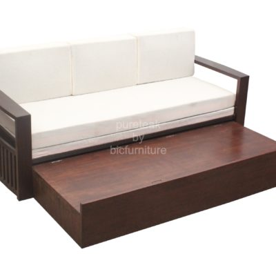 Wooden sofa bed with storage best storage design 2017 for Sofa bed 400