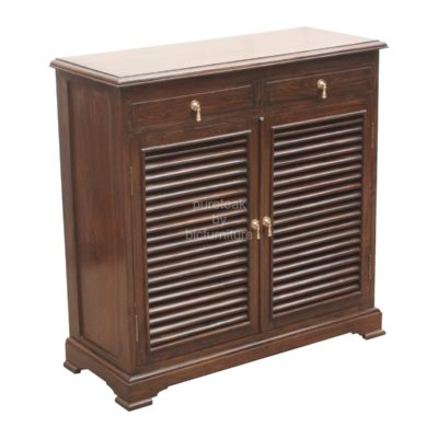 teak_wood_shoe_rack_with_louvered_doors