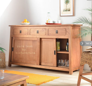 Fudji_colour_ sideboard_   Sideboard with_ sliding_doors