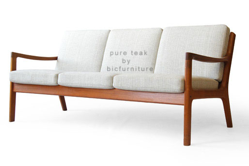 Wooden sofa in simple indian look (WS 44)