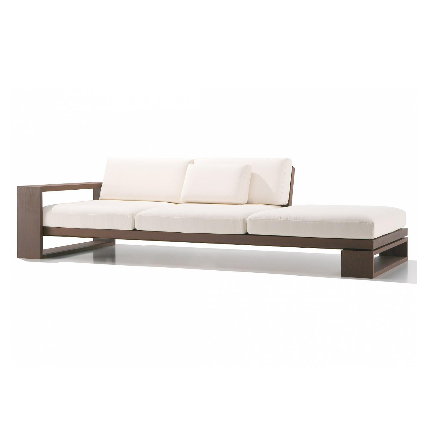 Modern white sofa design (WS 39) Details | BIC Furniture India