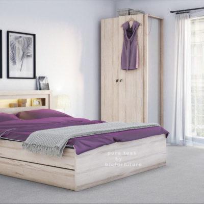 Bedroom Furniture India oakwood bedroom set (obs 30) details | bic furniture india