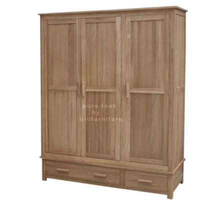 Pure_teak_three_door_wardrobe_in_natural_finish copy