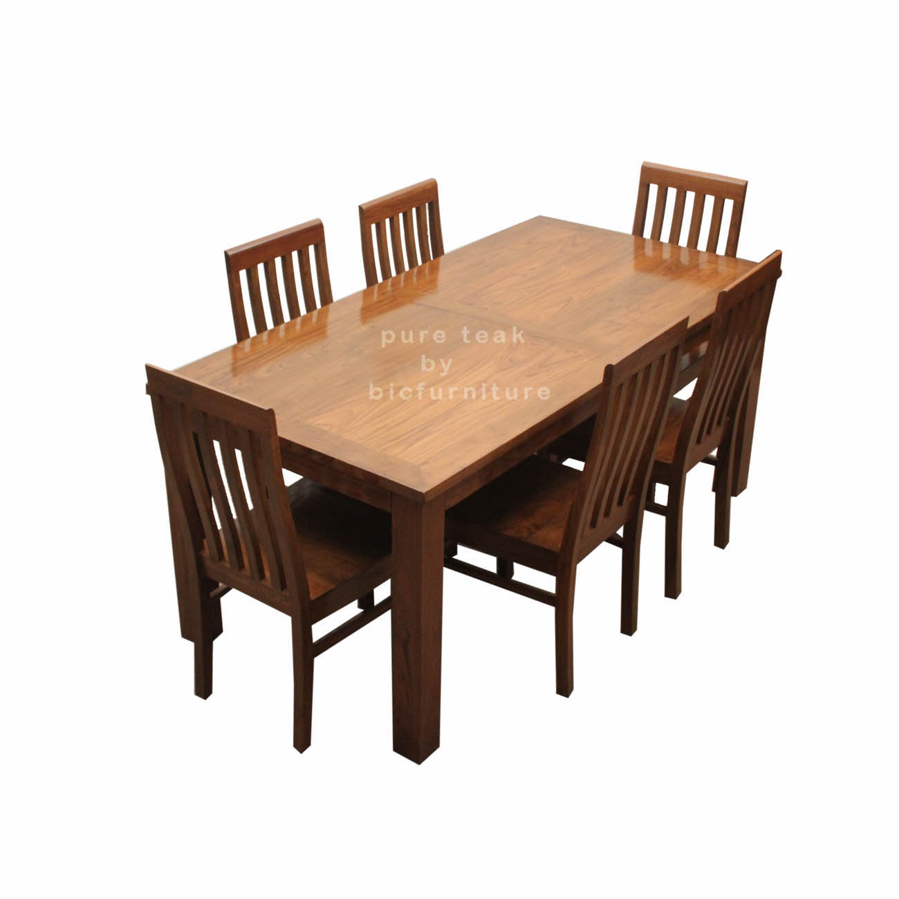 Picture Of Teak Wood Kitchen Set