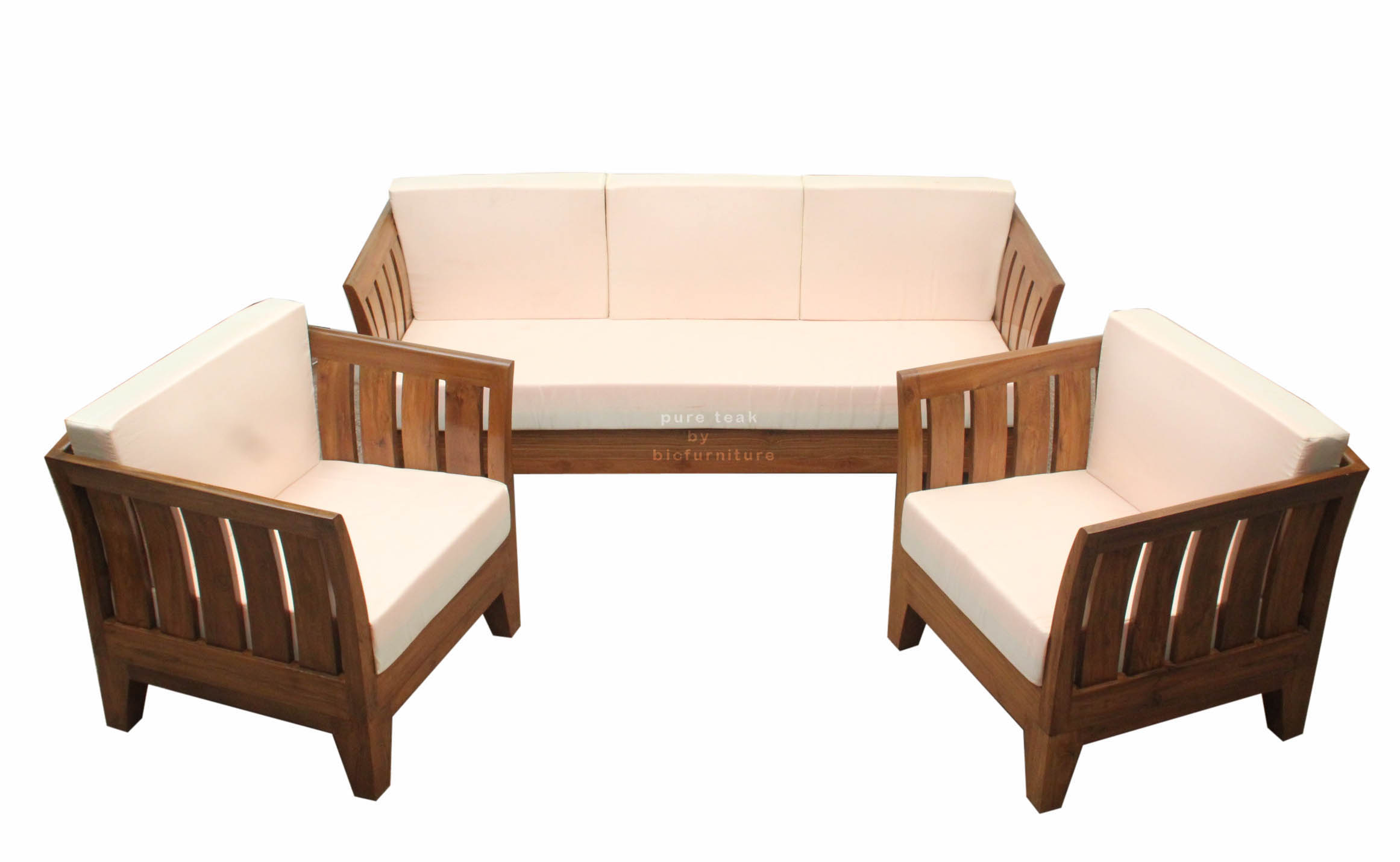 Teak Wood Sofa Set Ws 60