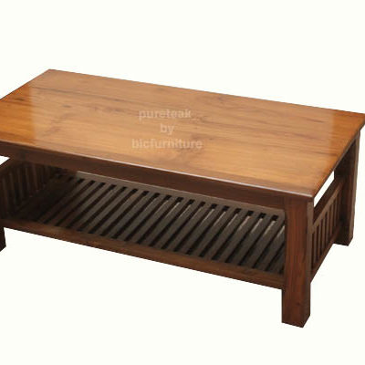 Wooden Coffee Table.Cf 27 Teak Wood Coffee Table
